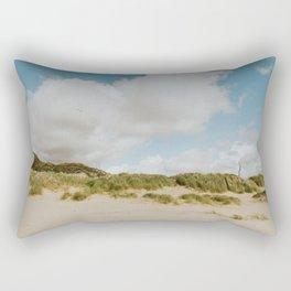 Barmouth beach North Wales Rectangular Pillow