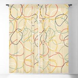 Crooked Circles #1 Blackout Curtain