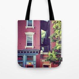 Tacos on Main Street - Beacon NY Tote Bag