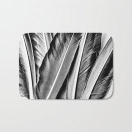 Feather Details Bath Mat