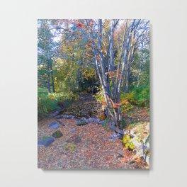 Magical Autumn Metal Print