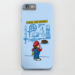 Weapon of Choice iPhone Case