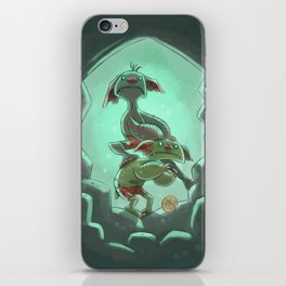 Goblins Drool, Fairies Rule! - Cringe and Cower iPhone Skin