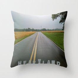 """Heartland III"" Throw Pillow"