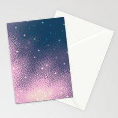 Lilac Nebula (8bit) Stationery Cards
