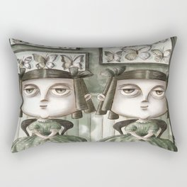 Erma and Dulcibelle Moffatt Rectangular Pillow