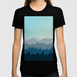 Face This Mountain (No Text) T-shirt