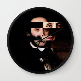 The Decomposed Composer Mendelssohn Wall Clock