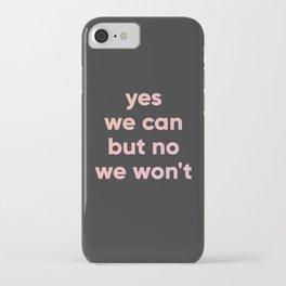 motto iPhone Case