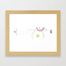 Art & Anthropology - Envelope Poster 2 Framed Art Print