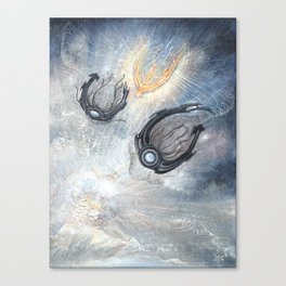 Starships Derelict Space Canvas Print