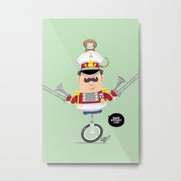 Captain Pizzazz Metal Print