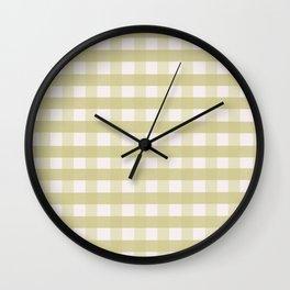 Vichy II Wall Clock