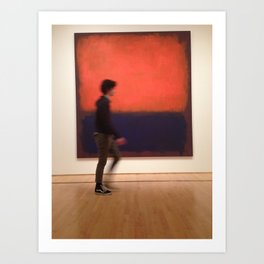 An Artist by Art Art Print