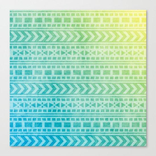 Aztec Pattern 07 Canvas Print