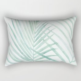Cool Minty Tropics Rectangular Pillow