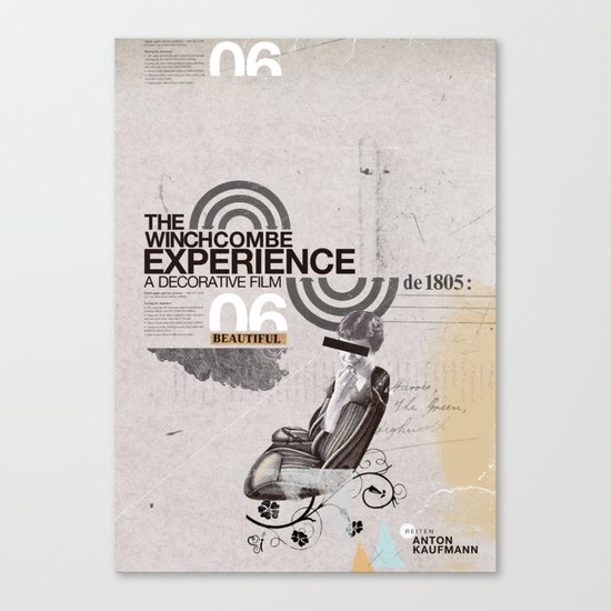Additional poster design- The Wichcombe Experience Canvas Print
