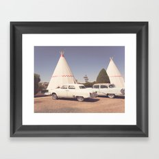 Sleep at the Wigwam Framed Art Print