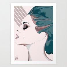 TEAR/001 Art Print