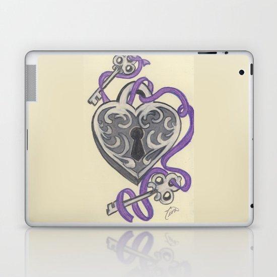 Love Lock Down Laptop & iPad Skin