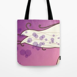 Long hair lady Tote Bag