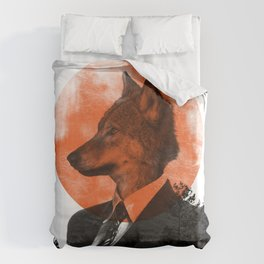 The real Wolf of Wall Street Duvet Cover