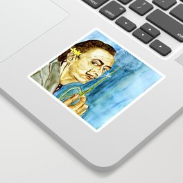 Dali Dandelion Sticker