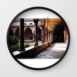 Old monastery Wall Clock
