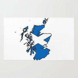 scotland-flag-logo Rug