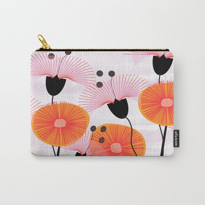 Weird Flowers Carry-All Pouch