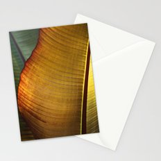 Leaf Abstract Stationery Cards