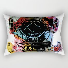 Fish Diver Rectangular Pillow