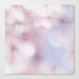 Blossom bokeh Canvas Print