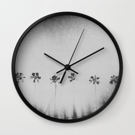 The Light Surrounds Us Wall Clock
