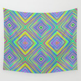 Crazy Squares (2018) Wall Tapestry