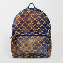 Bedazzled Mermaid Scales Backpack