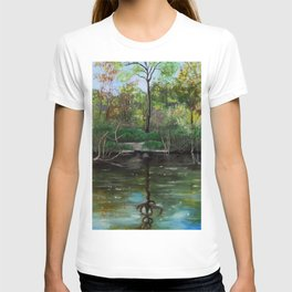 Evening On The Lake T-shirt