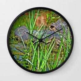 Just a Log Wall Clock