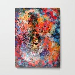 Galaxy of Emotions Abstract Art Metal Print