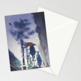 Trottoir miroir Stationery Cards
