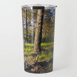 Dreaming Summer Forest Travel Mug