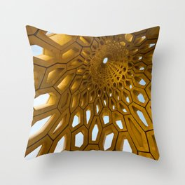 Kaust Beacon Throw Pillow