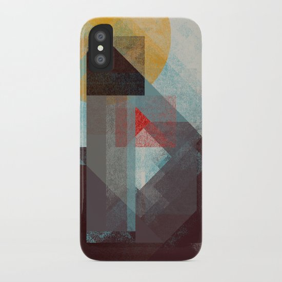 Over mountains iPhone Case