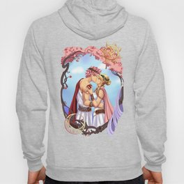 Natsu and Lucy- Gods of Old Hoody