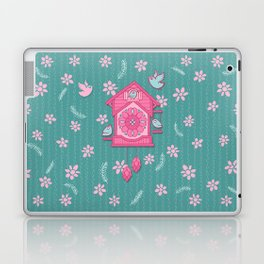 Cuckoo Time pink Laptop & iPad Skin
