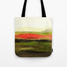 Watercolor abstract landscape 18 Tote Bag