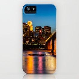 Stone Arch Bridge Illuminated iPhone Case