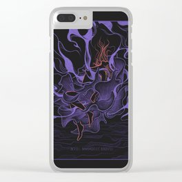 Ultraviolet Clear iPhone Case
