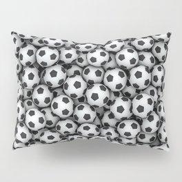 Soccer Balls Pillow Sham