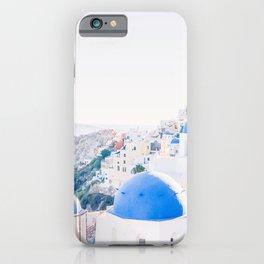 214. Santorini's View, Oia, Greece iPhone Case